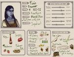 Skyrim Character Sheet by my-ain-sel