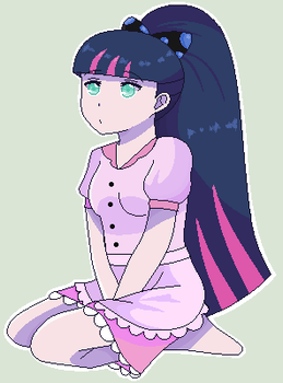 ~Waitress Stocking Anarchy~ by toothblade007