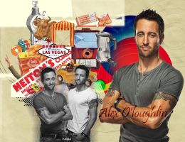 Alex O'loughlin by netta95