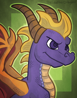 Portrait Request: nyro1 by TheLeatherDragonI