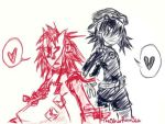 -Noodle and Cyborg Noodle- by The-Other-Promise