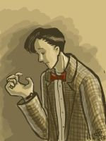 Doctor Who: Tracking the Time by tomato-bird