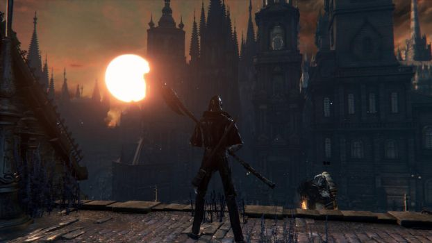 Bloodborne Sunset by AlexanderJade