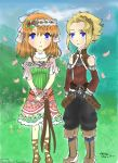 Rune Factory 3 Maisu and Sia by Eileene-Chan
