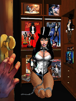 Zatanna The Complete Closet Collection Captive! by Damselfiend