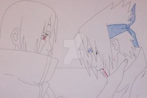 ''You're too weak..'' Sasuke vs Itachi Uchiha by SakakiTheMastermind