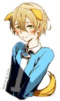 crying eugeo puppy by Liche1004