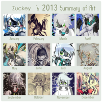 Zuckey through the year by Zuckey