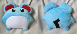 Marill Minky Plush by P-isfor-Plushes