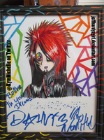 My Dahvie drawing signed by Dahvie by KymmieCup