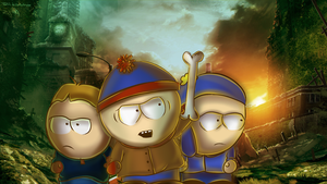 Planet of the Apes:  South Park Going Ape. by Torivic