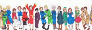 Axis Powers: Hetalia by Yaya-ouji