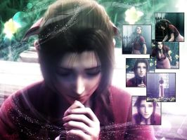Aerith prays by Aerith88