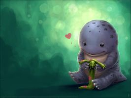 Quaggan Wallpaper by Aruyinn