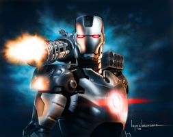 War Machine - Photoshop by LopezLorenzana