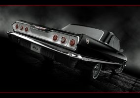 Chevrolet impala 1963 rear by salimljabli
