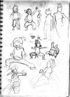 Sketch Page  Number 1 by iJate