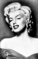 Marilyn in black by salvatoredevito