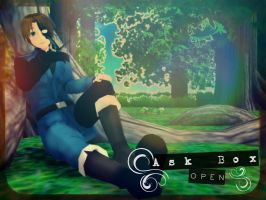 . : Ask Box Open : . by cam0001