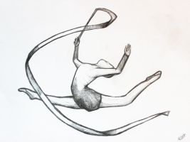 Rhythmic Gymnast by Sendzu