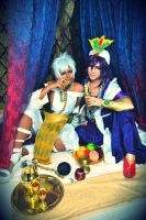 Magi: Best Drinking Buddies! by ringo-031
