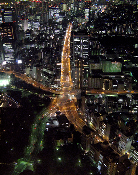 Tokyo's Main Artery 3 by theblindalley