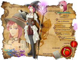 ToT App: Cerise Ambercrest by therese678