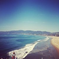 Santa Monica Beach by gaia3