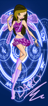 winx:DARCY THE FAIRY by caboulla