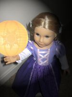 American Girl Floating lantern by ProtectorKorii