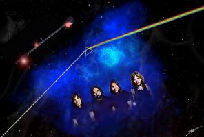 Pink Floyd by Geosammy