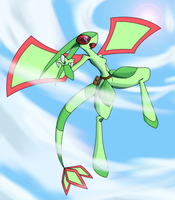Skyress the Flygon by R-MK