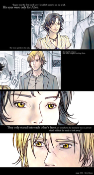 His eyes were only for Alice by nami64
