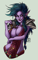 Special commission pack #2: Zal'mah by mortinfamiART