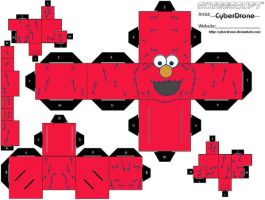 Cubee - Elmo by CyberDrone