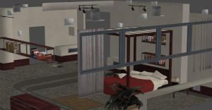 F.E.A.R 2 GENEVIEVE ARISTIDE BEDROOM by Oo-FiL-oO