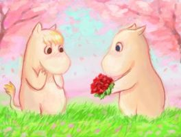 Moomins by Chimajra