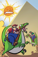 Two Plumbers In The Desert by MJRainwater