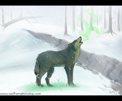 Green. by WolfsNightSong