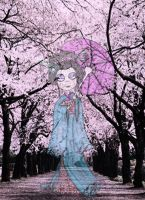 The Geisha ghost by Lttle-Horrors