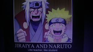 Jiraiya and Naruto Like Teacher Like Student LOL! by SuperSayian5Naruto