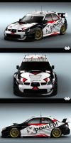 Subaru Livery Design by Abstraxi