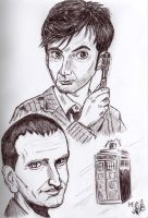 Doctor Who by Silwy-whisky