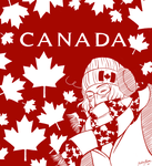 Commission: Canada by kelly--bean