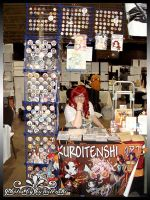 2014 Anime North Table by kuroitenshi13