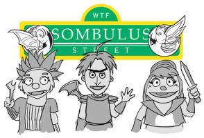 Sombulus Street by TheDelphina