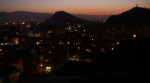 Plovdiv at Nightfall by laz007