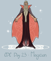 CDC - Day 23 - Magician by mel-de-ly