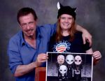 Clive Barker and I by ZombieGirl01
