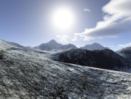Snowy Peaks - EasyNow-3D by backgrounds